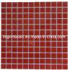 Mosaico di cristallo rosso solido (M8CB1089)