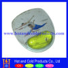 Прозрачный коврик для мыши PVC с Liquid с Wrist Rest Pad