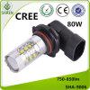 CREE LED Car Fog Light 80W Blanc 750-850lm