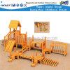 Equipamento de madeira do campo de jogos de Playsets para o jogo de madeira Hf-17102 do papel dos miúdos
