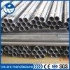 Soldado redondo de color negro P235 de la estructura de tubo de acero
