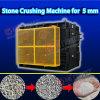 Granulosidade fina tamanho descarregado para o triturador de rolo quatro