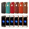 Caso de TPU suave del teléfono para el iPhone 6 7 6splus 7plus TPU de aceite de metal para el caso de cuero Samsung Galaxy J5 J7 (XSDD-085)