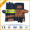 Перчатки бой пожара перчаток Aramid кожи коровы En659 огнезащитные