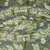 Tessuto dorato e d'argento di ultimo disegno dei Sequins del ricamo