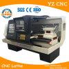 기계 송유관 선반을 스레드하는 수평한 유형 CNC 관