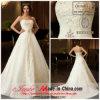 De Jueshe do projeto da catedral do trem vestido 2013 de casamento novo com bordado frisado (CH145)