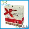 Kundenspezifisches Weihnachtspapierbeutel mit dem Firmenzeichen gedruckt