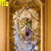 Byzantijnse Antieke Spiegel A014 van de Gouden Wijnoogst Weerspiegelde Muur Gevormde Spiegel van het Glas in de Spiegel van China