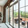 Алюминий Feelingtop сползая двойную стеклянную дверь балкона