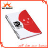 Personnalisé Cheap PP Cover Spiral Bound Notebook for Promotion Gift (PPN228)