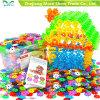 Plastik-DIY Schneeflocke-Teilchen-Baustein-Kind-Spielzeug
