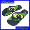 Suave y cómodo Flip Flop con bandera de Brasil Imprimir