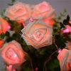Zeichenkette-Licht LED-Rose für Hochzeits-und Partei-Dekoration