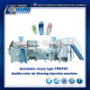 TPR/PVC doppelte Farben-Dreheinspritzung-Maschine