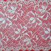 Flor elásticas Allover Suite Lace Rendas de Extensão da Rede de tecido grosso