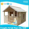 Meubles en bois extérieurs de maison de théâtre de jouet, maison de théâtre de jardin de gosses à vendre