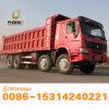아프리카 시장을%s 새로운 물통을%s 가진 최고 조건 저가 이용된 HOWO 덤프 트럭 12 타이어 팁 주는 사람