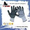 15gナイロンやしニトリルのサンディの終わりの上塗を施してある手袋