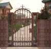 鉄の鋳造アルミの振動ゲートのドアの庭のドア