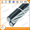 Commutateur AAC Triplex / Quadruplex XLPE Isolé ACSR Netural Service Drop Cable