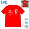 T-shirt fait sur commande de 2017 hommes de qualité pour des employés de l'entreprise