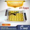 Incubadoras Multifunction automática cheia do ovo da galinha de 2017 24 ovos mini para vendas