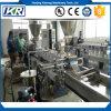 El mejor precio de fábrica ABS HDPE LDPE Materia prima Extrusora de doble tornillo Granulador Granulador / WPC Negro de Humo de madera Extrusora de plástico