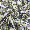 50d*75D Semigloss fausse torsion Satin imprimé numérique pour l'habillage