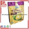 Bolso plástico de la impresión para el empaquetado de las virutas de la fruta
