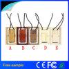 2016 China Fabris Gravura de corda de logotipo personalizado Pendrive de madeira