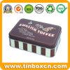 金属の食糧のための長方形チョコレートビスケットの錫は包装ボックスできる