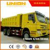 덤프 트럭 HOWO 대형 트럭 Sinotruck 사용된 덤프 물통 작풍 6*4
