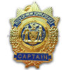 3D Plice Badge New York Police Badge (GZHY-BADGE-012)