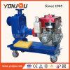 ディーゼル機関駆動機構の海水ポンプの発動を促している自己