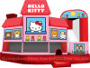 De qualité commerciale Hello Kitty Bouncer Château de saut pour les filles