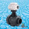 Unión PVC doble válvula de bola