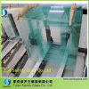 6mm Clear Tempered Glass avec Beveled Edge et Drilling Holes