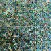 Paua 포탄 모자이크 타일, 배경 벽 (ALT-SQ10)