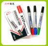 Markeerstift twee HoofdWhiteboard (x-137), de Dubbele Hoofd Droge Pen van de Gom