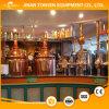 equipo de la cerveza de la instalación piloto de 400L 4hl/mini equipo casero de la cerveza/cervecería de cobre roja