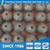 El diámetro 20-150m m de la precisión de China forjó las bolas de pulido del acero, bola de acero forjada