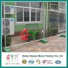 Передвижная временно загородка с соединениями и бетонными плитами