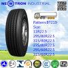 Bt219 강철과 트레일러를 위한 광선 트럭 타이어는 선회한다 (295/80R22.5)