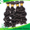 Trama indiana do cabelo humano da venda por atacado da fábrica do cabelo de Aofa
