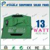 Sacchetto mobile solare portatile su efficiente multifunzionale del pannello del caricatore di Sunpower senza tassa per l'importazione (PETC-H13)
