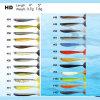 HD 4  5  7.8G 3.7G et leurre en plastique souple faites par BASF matériel avec l'action parfait