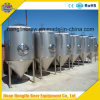 Fermentadoras de la cerveza del acero inoxidable, depósitos de fermentación industriales de la cerveza, equipo de la fermentación de la cerveza