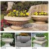 Potenciômetro de flor de pedra do jardim Marble/Granite (YKFP-02)