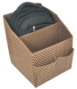 Caixa de exibição para o saco de armazenamento